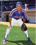 Gregg Jefferies New York Mets Slight Crease 8X10 Photo SUPER SALE