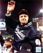 Joe Torre New York Yankees 2000 World Series Slight Creases 8X10 Photo SUPER SALE