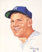 Whitey Ford Limited Edition up to 5000 by Ron Lewis New York Yankees 8X10 Photo LIMITED STOCK