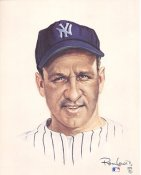 Enos Slaughter Limited Edition up to 5000 by Ron Lewis New York Yankees 8X10 Photo LIMITED STOCK
