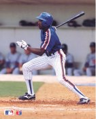 Vince Coleman Glossy Card Stock Barry Colla Photo New York Mets 8X10 Photo LIMITED STOCK