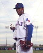 Neftali Feliz Texas Rangers Satin 8X10 Photo LIMITED STOCK