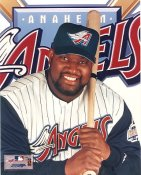 Mo Vaughn Anaheim Angels 8x10 Photo LIMITED STOCK