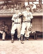 Warren Spahn & Johnny Sain Milwaukee Braves 8X10 Photo LIMITED STOCK