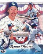 Robin Yount Milwaukee Brewers Numbered Limited Edition Slight Corner Crease 8x10 Photo LIMITED STOCK