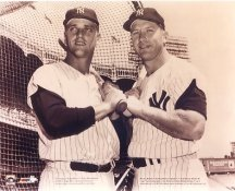 Roger Maris and Mickey Mantle New York Yankees No Hologram 8x10 Photo LIMITED STOCK