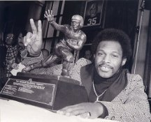 Archie Griffin with The Heisman Trophy Ohio State LIMITED STOCK 8X10 Photo