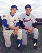 Joe Niekro & Phil Niekro Chicago Cubs /Atlanta Braves LIMITED STOCK 8X10 Photo