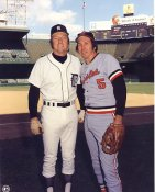 Al Kaline & Brooks Robinson Detriot Tigers / Baltimore Orioles LIMITED STOCK 8X10 Photo