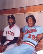 Luis Tiant & Rod Carew Boston Red Sox / Minnesota Twins LIMITED STOCK 8x10 Photo