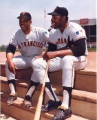 Willie Mays & Willie McCovey San Francisco Giants LIMITED STOCK 8X10 Photo