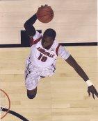 Gorgui Dieng Louisville / Memphis Grizzlies LIMITED STOCK Satin 8X10 Photo