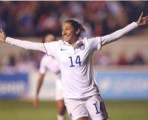 Morgan Brian 2015 USA Women's Soccer World Cup LIMITED STOCK Satin 8X10 Photo