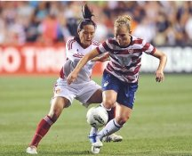Amy Rodriguez USA Women's Soccer World Cup LIMITED STOCK Satin 8X10 Photo