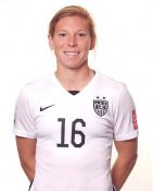 Lori Chalupny 2015 USA Women's Soccer World Cup LIMITED STOCK Satin 8X10 Photo
