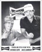 Myron Cope & Jack Lambert Pittsburgh Steelers LIMITED STOCK Satin 8x10 Photo