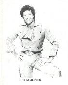 Tom Jones LIMITED STOCK 8X10 Photo