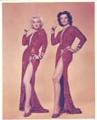 Marilyn Monroe & Jane Russell From Gentlemen Prefer Blondes LIMITED STOCK 8X10 Photo