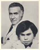 Ricardo Montalban & Herve Villechaize in Fantasy Island LIMITED STOCK 8X10 Photo