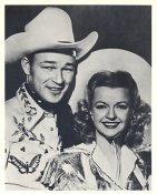 Roy Rogers & Dale Evans LIMITED STOCK 8X10 Photo