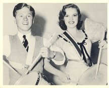 Mickey Rooney & Judy Garland LIMITED STOCK 8X10 Photo
