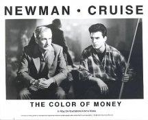 Paul Newman & Tom Cruise The Color Of Money LIMITED STOCK 8X10 Photo