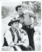Clint Eastwood & Eric Fleming LIMITED STOCK 8X10 Photo