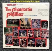 Phillies 1980 Phantastic Phillies Record Album - Original Shrinkwrap - Harry Kalas World Series Champs LP Mike Schmidt