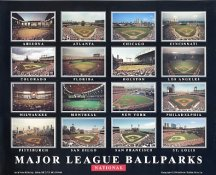 Major League Ballparks National SUPER SALE 8X10 Photo