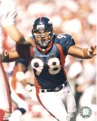 Maa Tanuvasa Denver Broncos Slight Water Stain at Top SUPER SALE 8X10 Photo