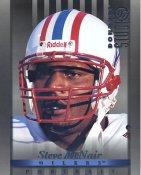 Steve McNair Houston Oilers DonRuss Studio Card LIMITED STOCK 8X10 Photo