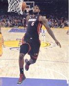 Lebron James Miami Heat LIMITED STOCK 8X10 Photo