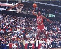 Michael Jordan Chicago Bulls Slam Dunk Contest LIMITED STOCK 8X10 Photo