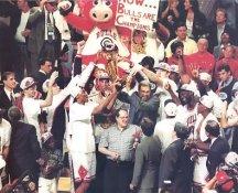 Michael Jordan, Scottie Pippen, Phil Jackson Chicago Bulls Champs LIMITED STOCK 8X10 Photo