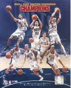Jason Kidd, Kenyon Martin, Kerry Kittles, Todd MacCulloch, Keith VanHorn, Lucious Harris & Richard Jefferson 2001/2002 Champions New Jersey Nets Slight Creases SUPER SALE 8X10 Photo