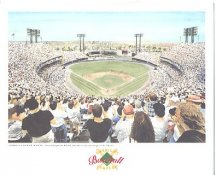 Memorial Stadium Baltimore Orioles America's Baseball Temples LIMITED STOCK 8X10 Photo Litho