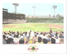 Fenway Park Boston Red Sox America's Baseball Temples LIMITED STOCK 8X10 Photo Litho