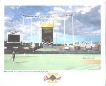 Royals Stadium Kansas City Royals America's Baseball Temples LIMITED STOCK 8X10 Photo Litho
