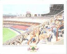 Anaheim Stadium California Angels America's Baseball Temples LIMITED STOCK 8X10 Photo Litho