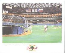 Houston Astrodome Houston Astros America's Baseball Temples LIMITED STOCK 8X10 Photo Litho