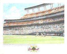 San Diego Jack Murphy Stadium San Diego Padres America's Baseball Temples LIMITED STOCK 8X10 Photo Litho