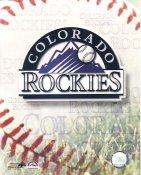 Colorado Rockies Baseball Logo LIMITED STOCK 8X10 Photo