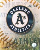 Oakland Athletics Baseball Logo LIMITED STOCK 8X10 Photo