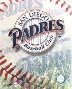 San Diego Padres Baseball Logo LIMITED STOCK 8X10 Photo