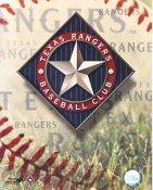 Texas Rangers Baseball Logo LIMITED STOCK 8X10 Photo
