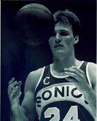 Tom Chambers Seattle Sonics LIMITED STOCK Satin 8X10 Photo
