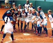 Team USA Women's Olympic Softball LIMITED STOCK Satin 8x10 Photo