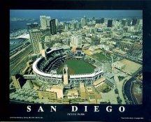 A1 Petco Park Aerial San Diego Padres 8X10 Photo