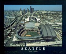A1 Safeco Field Aerial Seattle Mariners Day Game 8X10 Photo