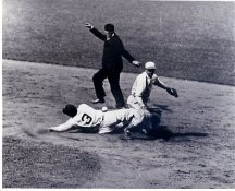 Babe Ruth Sliding Against A's June 1929 New York Yankees LIMITED STOCK 8X10 Photo